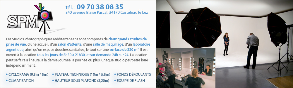 Studios PM, partenaire de Location Studio Photo